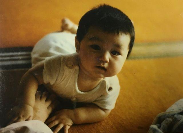 Koichiro Iizuka de bebé