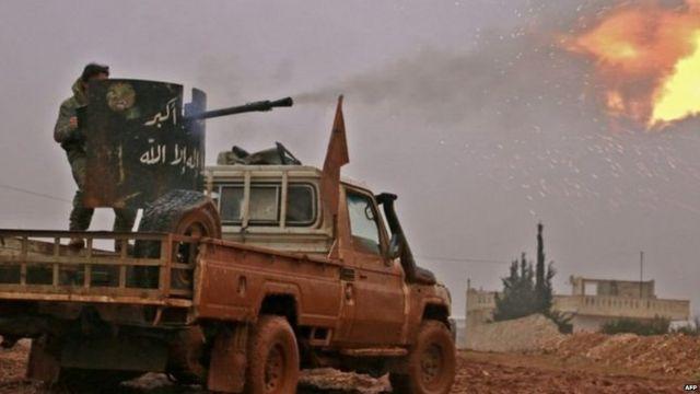 सीरिया में विद्रोही गुट