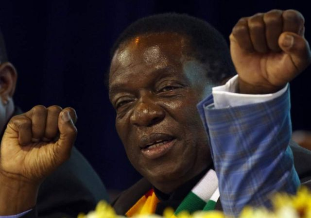 Pirezidantii Zimbaabuwee Emarsan Minaangaaguwaa