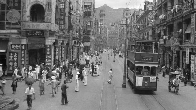 1940年代香港德辅道中