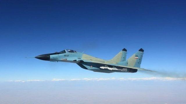 بنا بر گزارشها هواپیمای سانحهدیده میگ ۲۹ ارتش ایران بوده است