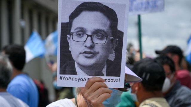 Protesta por la destitución de Sandoval
