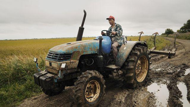 китайский тракторист