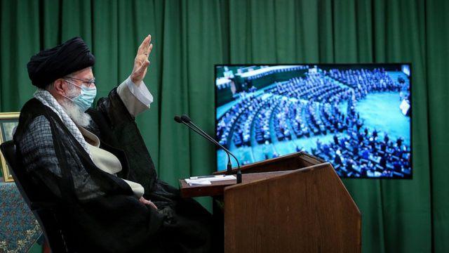 دیدار مجازی خامنه ای با نمایندگان مجلس
