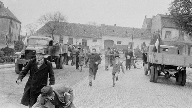 Revolución húngara de 1956.