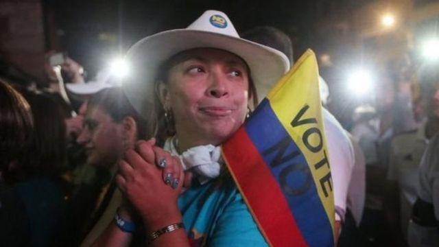 'Yan Colombia a wajen kada kuri'a