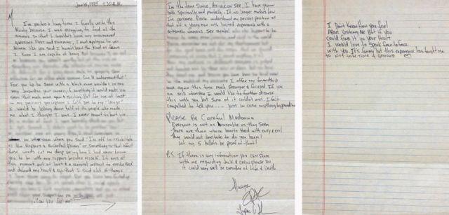 Tupac Shakur-un Madonnaya 1995-ci ildə yazdığı məktub