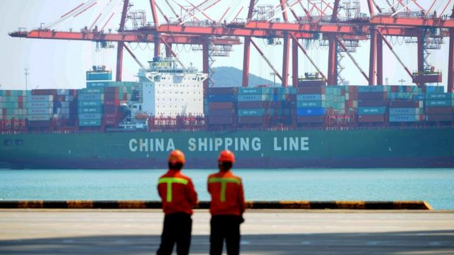 中国货柜码头