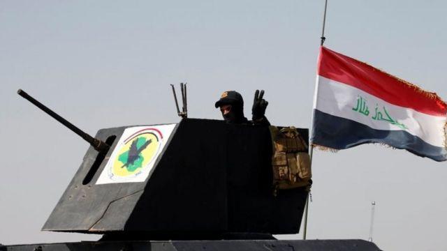 Islamic State: Iraqi army makes gains in Falluja offensive