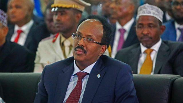 الرئيس الصومالي الجديد محمد فرماجو