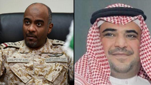 سعود القحطاني وأحمد العسيري