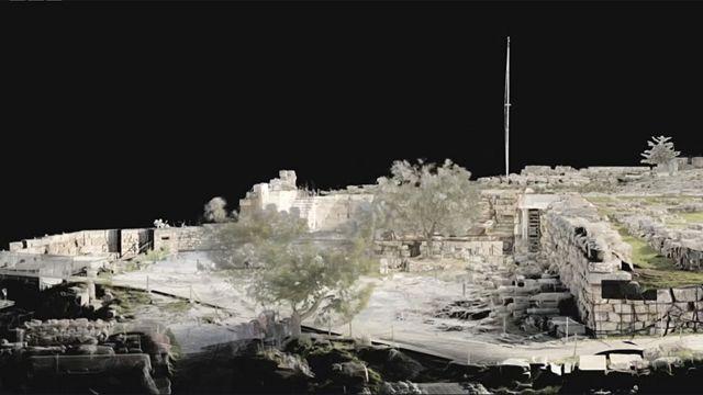El terreno en el que construyeron el Erecteón