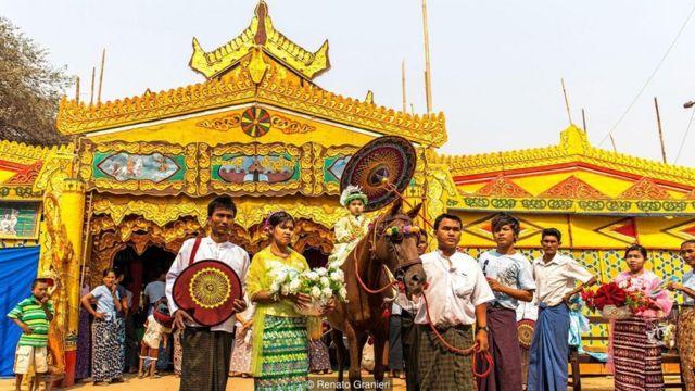 Biksu, Buddha, Myanmar