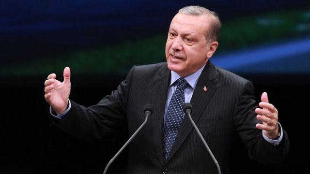 土耳其现任总统埃尔多安。
