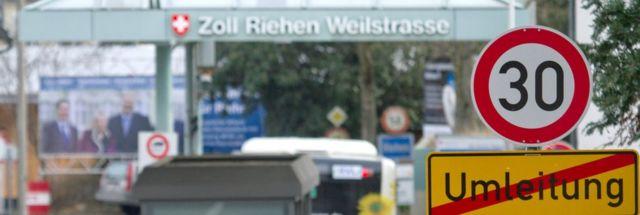 Almanya İsviçre sınırı