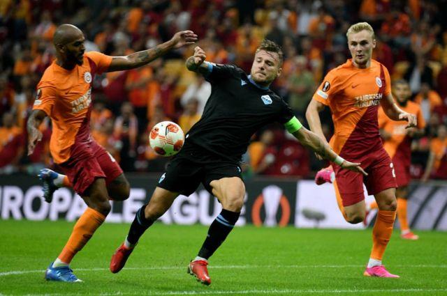Galatasaray-Lazio maçı