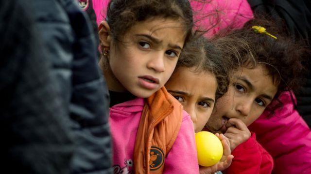 叙利亚难民儿童