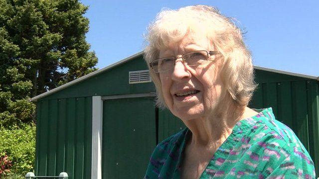Janet Lloyd, 81, from Swansea
