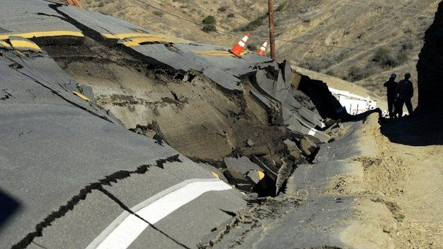 Twisted road in California