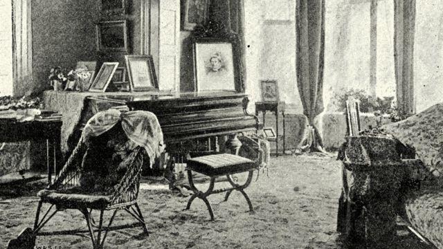 Викторианская гостиная