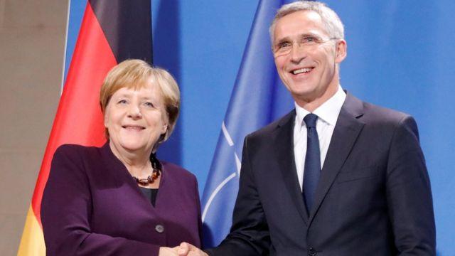 Канцлер Германии и генеральный секретарь НАТО не согласны с Макроном