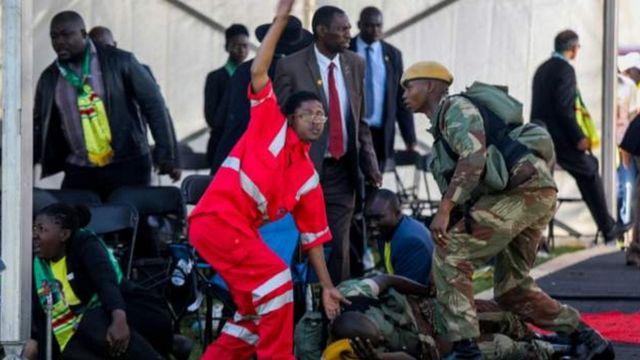 Ndị merụrụ ahụ na Zimbabwe