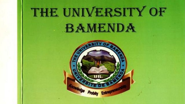 University of Bamenda logo