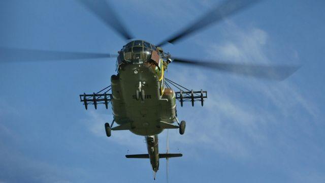 Вертоліт Mi-8