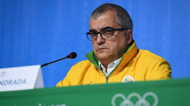 Mário Andrada, porta-voz do Comitê Organizador da Rio 2016