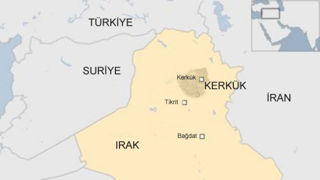IRAK HARITA