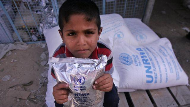 """تقول """"الأونروا"""" إنها توفر خدمات ومساعدات لأكثر من 5 مليون لاجئ فلسطيني"""