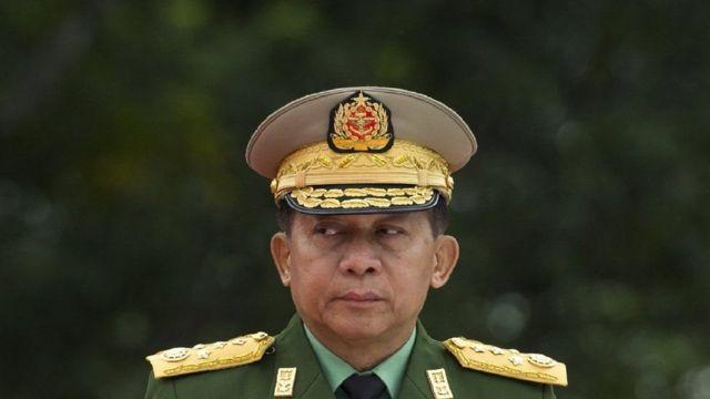 مین آنگ هلینگ، فرمانده کل ارتش میانمار