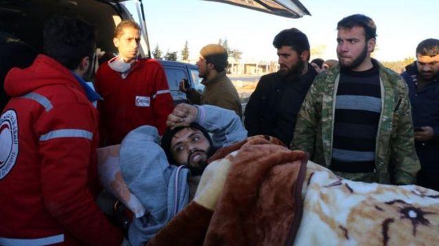 Sơ tán Idlib