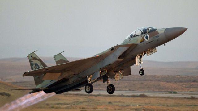 مقاتلة إسرائيلية من طراز اف 16