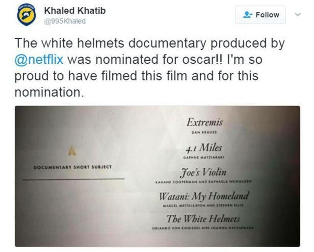 Khaled Khatib tweet