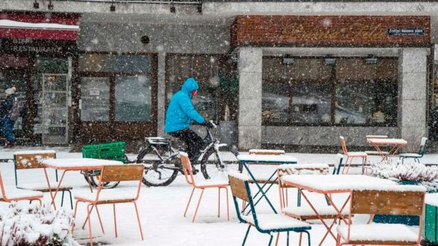 Imagen de una calle de Oslo (Noruega)