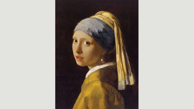 La jeune fille à la boucle d'oreille en perle (vers 1665)