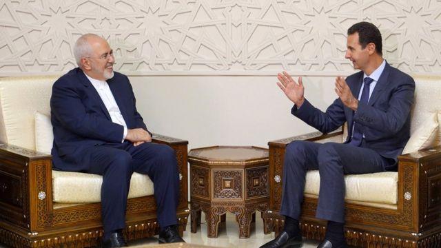 Zarif ve Esad