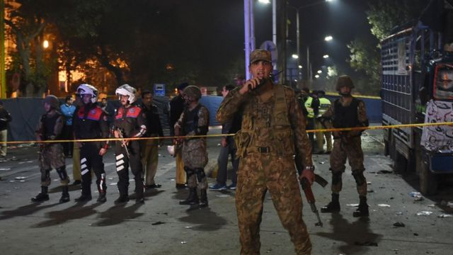 لاہور دھماکہ