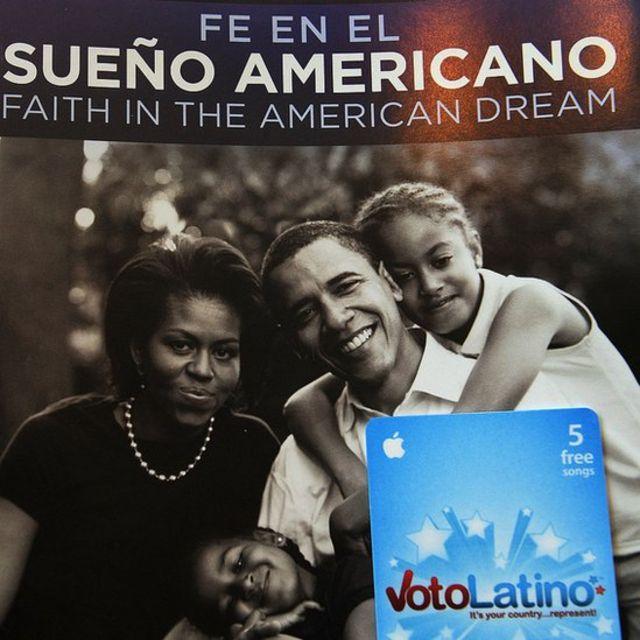 Cartel de campaña de Barack Obama