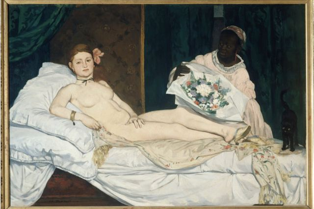 Manet, Picasso and Cezanne works renamed after black models