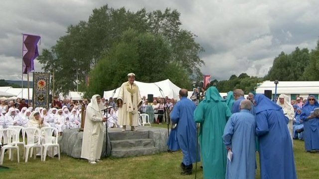 The National Eisteddfod in Abergavenny