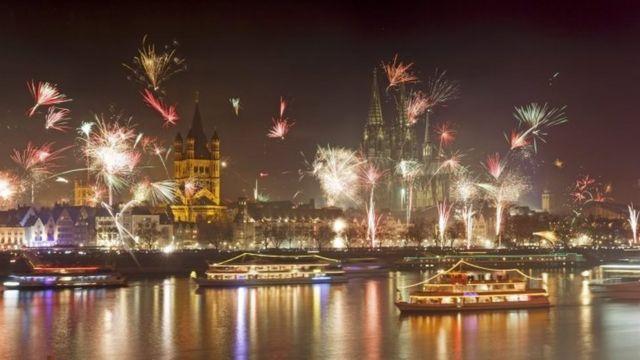 الاحتفالات بالعام الجديد في كولونيا