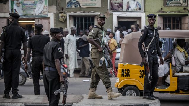 Anti Daba Force and the Kano police officers
