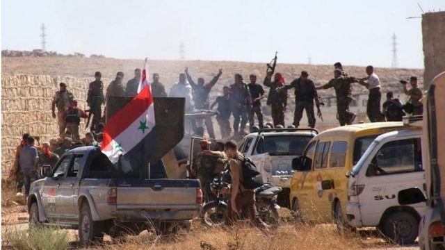نیروهای دولت سوریه اردوگاه حندرات را به تصرف خود در آوردند