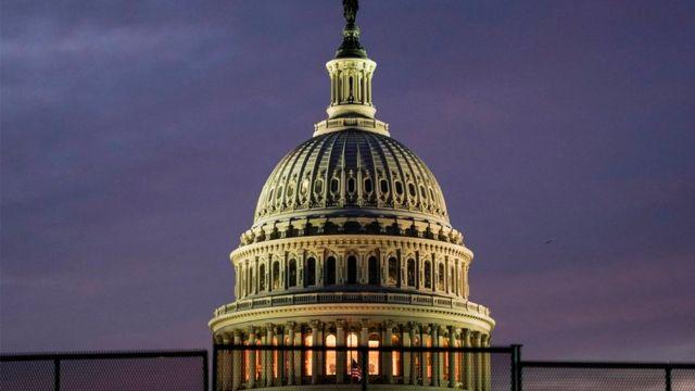Capitolio de noche