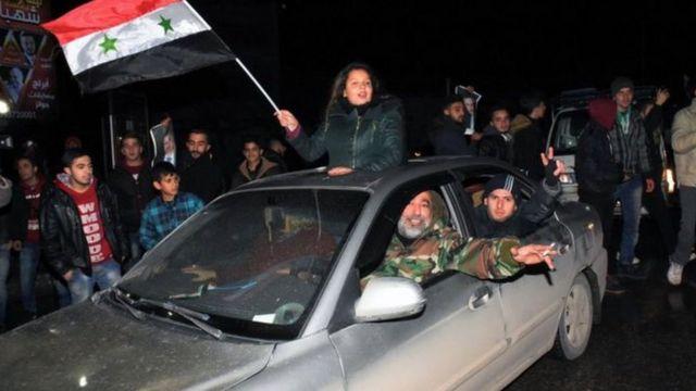 أنصار للحكومة السورية