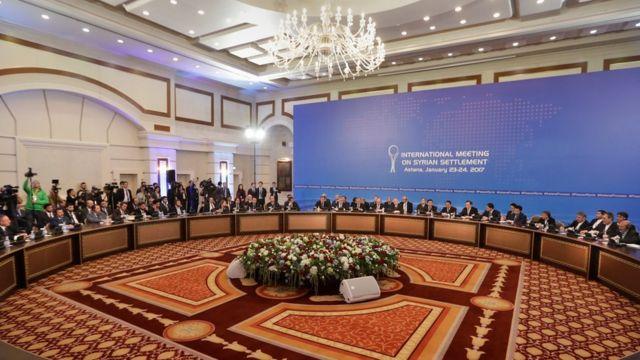 محادثات كازاخستان