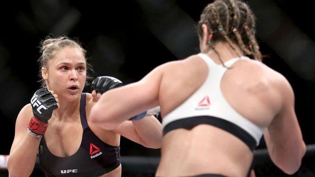 A judoca americana virou uma sensação do MMA