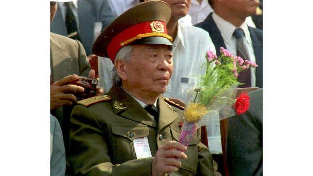 Đại tướng Võ Nguyên Giáp là Bộ trưởng Quốc phòng của Bắc Việt thời chiến tranh